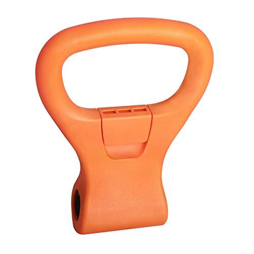 perfeclan El Mango Ajustable de Kettlebell de Fitness Convierte Las Mancuernas en Kettlebells para el Entrenamiento de Viaje de Gimnasio en casa