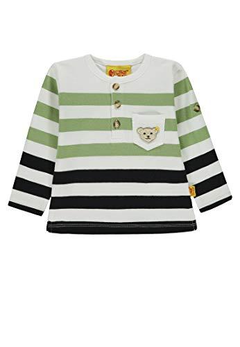 Steiff Steiff Baby-Jungen 1/1 Arm T-Shirt, Mehrfarbig (Y/D Stripe|Multicolored 0001), 74
