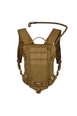 Source Tactical Gear Rider Low Profile Hydration System (Coyote, 3-litres)