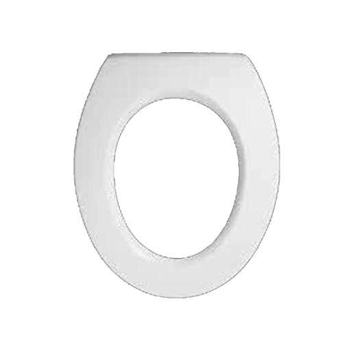Copriwater dedicato per Serie Panda Pozzi Ginori in Resina Poliestere colata Bianco Lucido - Coperchio Sedile tavoletta per WC - Massima qualita' Garantita