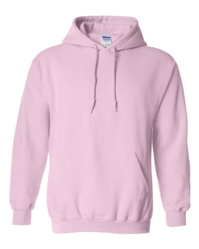 Gildan Heavyweight Hooded Sweatshirt Sudadera con Capucha, Rosa (Light Pink), S para Hombre