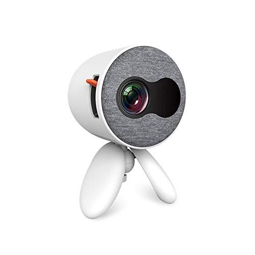 Proyector HD 1080P, Proyector De 480 * 272 Píxeles 4K 1080P Full HD, Compatible con TV Stick/HDMI/TV Caja/Laptop