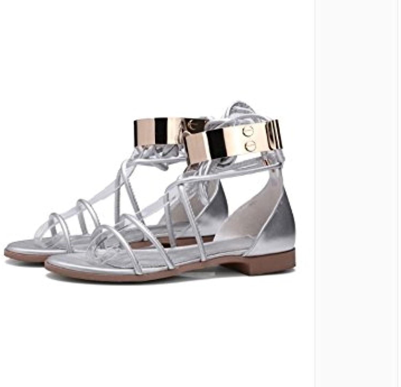 WHW Women's Low Heel Transparent Heel Wedges Heels Heels Outdoor Sandals
