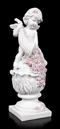 Engel Fantasy Figur - Fortuna Putte | Elfe, Fee, Skulptur, Statue, Schutz-Engel, H 28,5 cm