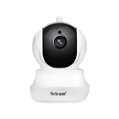 Sricam Wireless Security Camera 1080p Pan/Tilt/Zoom Wifi Camera with Two Way Audio, Motion Detection, Night Verison, MicroSD Recording for iPhone/Android Phone/iPad/Windows Remote View