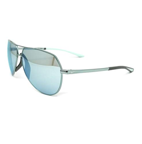 NIKE EV1085 333 62 Igloo Blue Super Blue Mirror Size 62mm Gafas de sol unisex