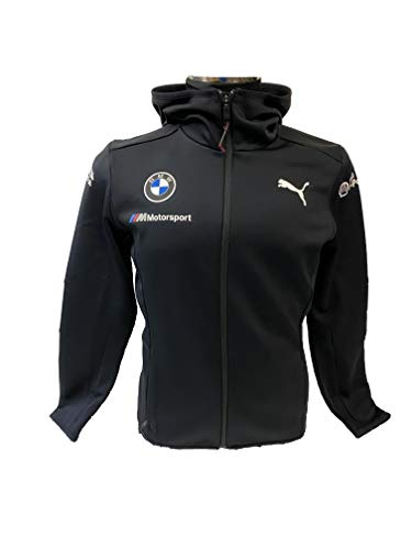 PUMA BMW Motorsport Team Midlayer Jacket Chaqueta, antracita, M para Hombre