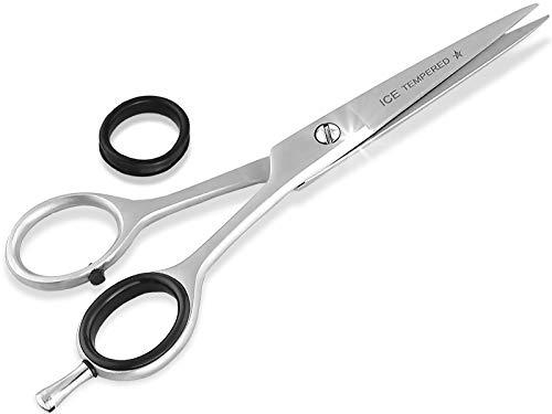 Profi Haarschere Friseurschere Effilierschere Modellierschere Edelstahl Rostfrei Haarschneideschere mit Scharfer Schneide für ein perfekten Haarschnitt (6 Zoll/15,24 cm, Haarschere)