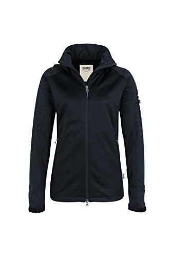 HAKRO Damen Softshell-Jacke Alberta - 248 - schwarz - Größe: S