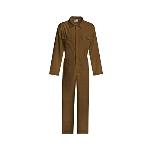 WORK AND STYLE Overall - Classico Khaki, 48