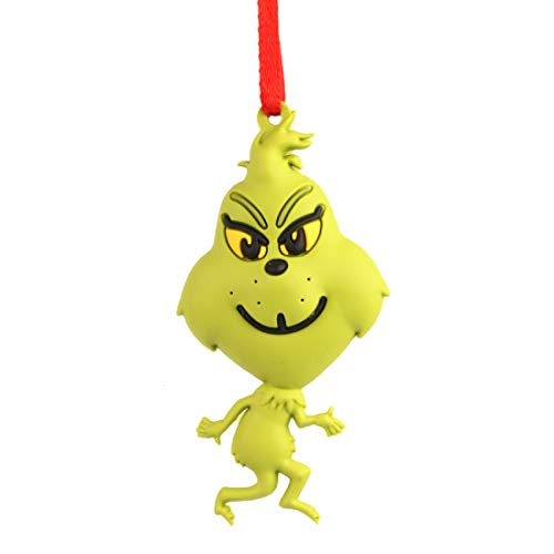 Department 56 Dr. Seuss The Grinch Pop Style Hanging Ornament, 3 Inch, Multicolor