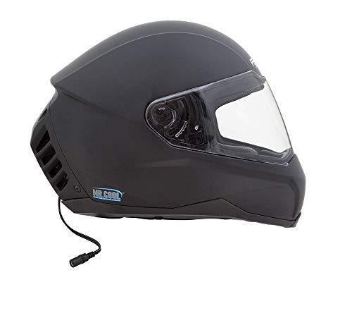 Feher Helmet -ACH-1 Casque Air conditionné Noir Mat Taille M