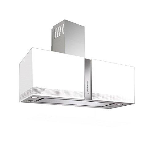 Falmec Dunstabzugshaube Mirabilia Platinum Inselhaube 85 cm