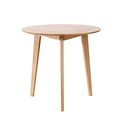 MROSW Nordic Effen Houten Meubels Wit Eiken Eettafel Kleine Appartement Eettafel Effen Houten Tafel Creatieve Eettafel Eenvoudige Logboek Eettafel