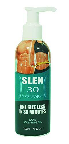 BEST DIRECT Velform Slen30 As seen on TV Modellierendes Körpergel Schnelle und einfache Anti-Cellulite-Creme Fettverbrennung für Frauen