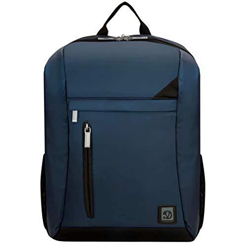 VanGoddy NavyブルーwithブラックトリムLaptopバックパックfor Asus ROG/Zenbook/Chromebook/Transformer Book/VivoBook