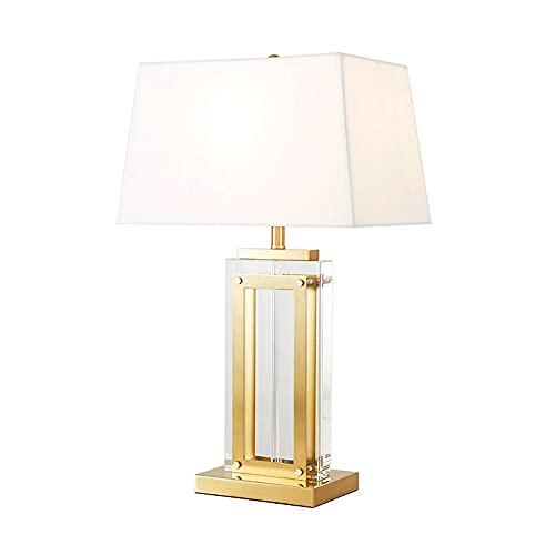 A-myt' una Variedad de Fuentes de luz están dispo Dormitorio Moderno Dormitorio de Noche de Cama Creativa lámpara de Mesa de diseño Sala de Estar Simple Cristal Villa de Alta Gama Decoración cálida