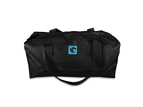 gymadvisor–atleta blanco/negro gimnasia competencia Travel–Bolsa con equipo para Protector para la mano 28cm (L) X 14Cm (W) X 12cm (H), negro