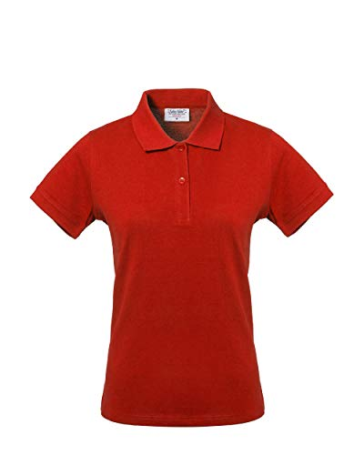 Rossini Trading HH15607HS dames poloshirt Take Time, rood, S