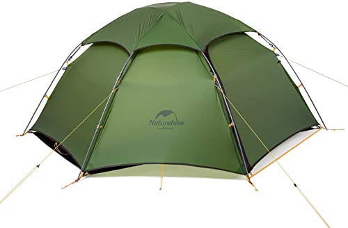 Naturehike Cloud Peak Hexagon Tent 4 Season Backpacking Tent for 2-3 Person Hiking Camping Outdoor...