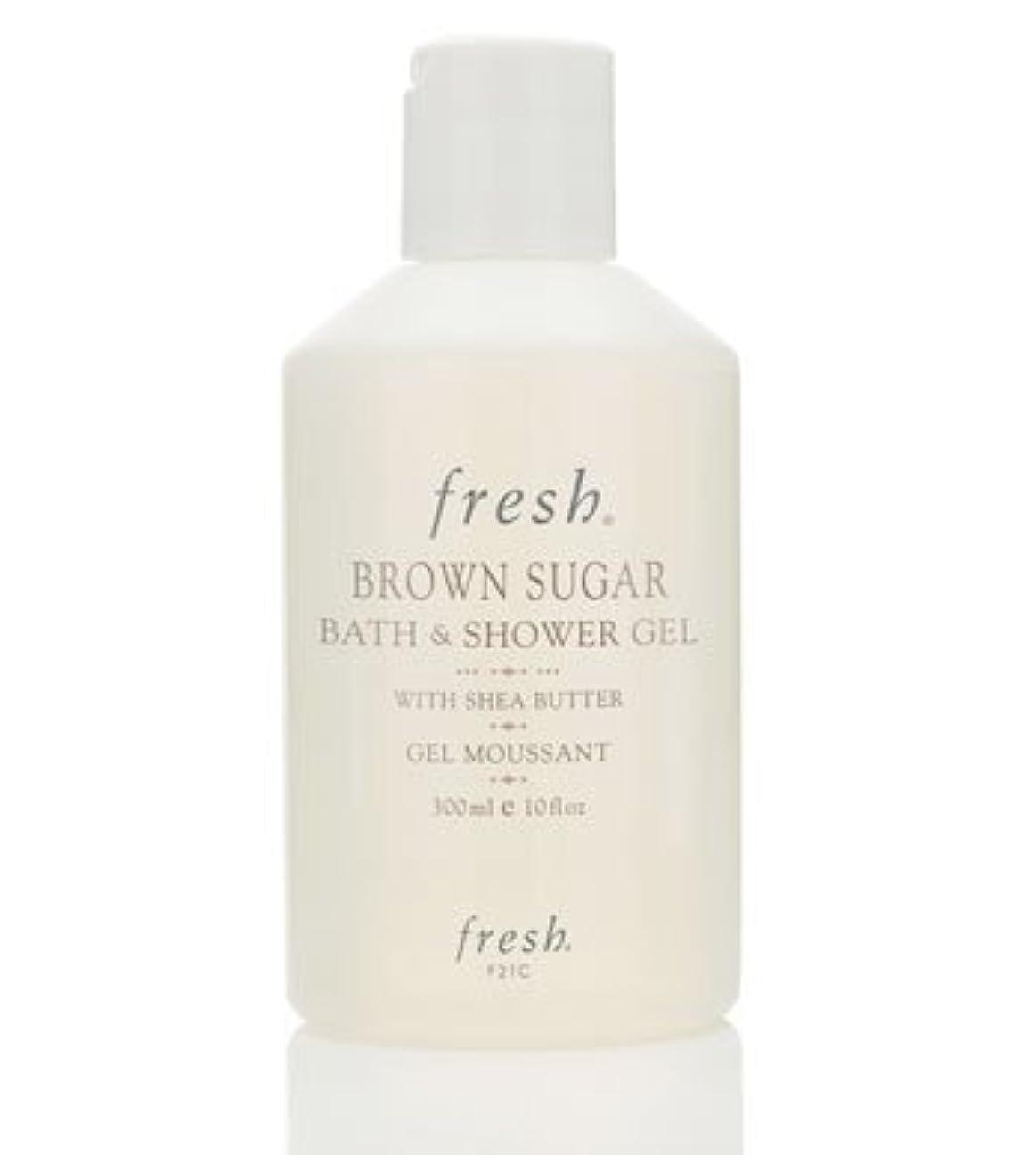 要塞侮辱胴体Fresh BROWN SUGAR BATH & SHOWER GEL (フレッシュ ブラウンシュガー バス&シャワージェル) 10 oz (300ml) by Fresh