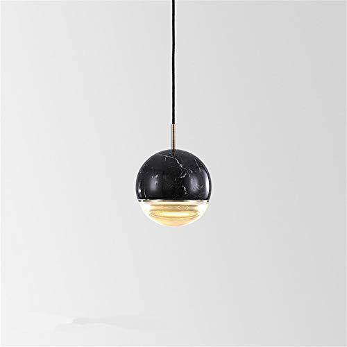 Hanglamp, moderne marmerbol, led enkele kop, hanglamp, eenvoudige eetkamer, bar, nachtkastje, keuken, hangend, licht, wooncultuur, lamp
