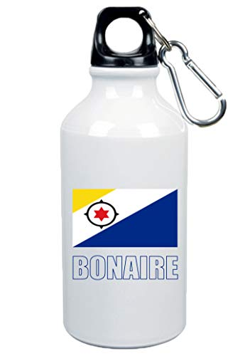 Typolitografie Ghisleri drinkfles Bonaire vlag 500 ml aluminium 26