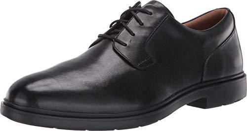 Clarks Men's Un Tailor Tie Black Leather 7 Medium