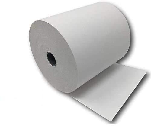 lot de 100 - Bobine Papier Thermique, 80 x 80 x 12 mm , Lot de 100 rouleaux thermique 80x80x12 pour ticket de caisse - bobines de papier thermiques pour imprimante de tickets de caisse ou caisse enregistreuse - papier blanc haute qualité - marque univers graphique réf UGR03 - TVA déductible à la différence de nombreux vendeurs