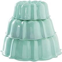 Nordic Ware 50304 Tiered Bundt Set - 3, 6, 12 Cup, Mint