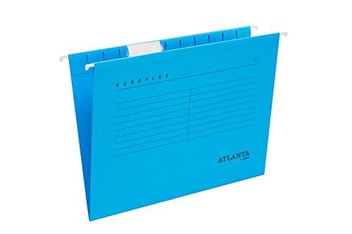 Jalema 2652742600 - Cartella sospesa Euroflex, formato A4, 25 pezzi, colore: Blu