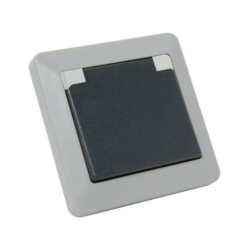 Debflex 735120 Opaline Prise 2P+T IP44 Gris