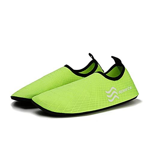 N\C Zapatos de playa ligeros para hombre, de secado rápido, natación, zapatos de deporte acuático para mujer, zapatos planos Upstream para exteriores, zapatos de playa sin cordones, unisex
