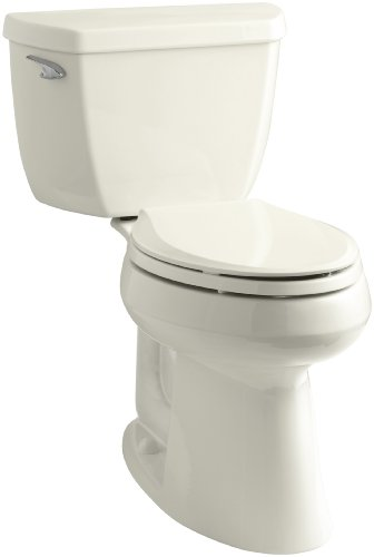 in budget affordable Caller K-3713-96 Highline Classic Comfort Height 2 Part Expansion Toilet, 10 inch Top Entry, …