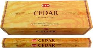 The Indian Connection Cedar Incense - Hem brand - 1 box of approximately...