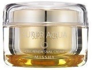 ミシャ スーパーアクア セルリニュー スネール(かたつむり)クリーム 47g[Missha] Super Aqua Cell Renew Snail Cream 47g [並行輸入品]