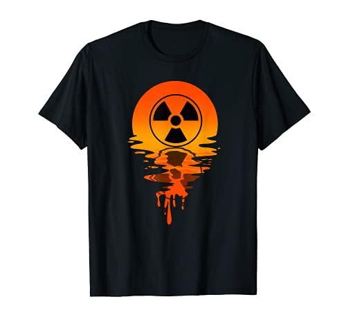 Panneau de rayonnement de style rétro vintage T-Shirt