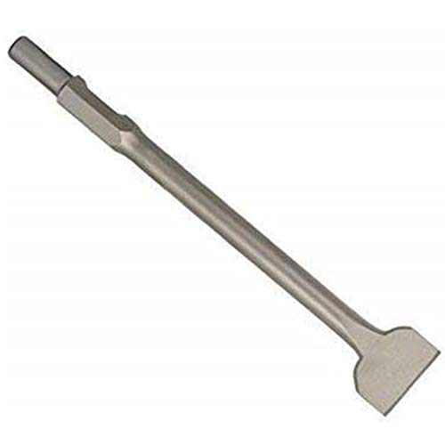 SDS HEX Meißel - 75x410 mm - Ideal zum Abtragen von Verputz & Mauerwerk - Gehärtete Spitze - Schnelles Abstemmen mit Abbruchhammer - 75x410 mm