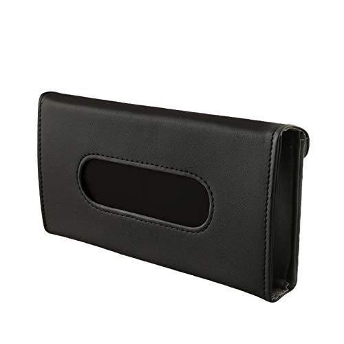 1 Stück Auto tragbar PU Aufbewahrungstasche für Masken, Aufbewahrung für Tragbare Gesichtsmasken, Aufbewahrungsbox für Maskenhalter,Leicht zu Reinigen Maskenbox für Mundschutz (1#)