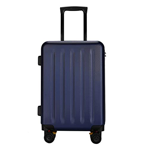 Adlereyire Trolley Suitcase Lightweight Durable Carry On Cabin Hand Luggage Set, Travel Bag with 4 Wheels (Color : Blue, Size : 63cm)