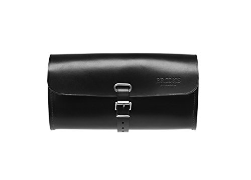 Brooks England Ltd. Unisex Adult Saddle Bag Satteltaschen, Black, 7 x 21 x 11 cm