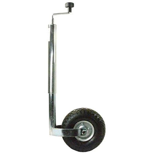 Stützrad Anhängerstützrad Luftreifen mit Stahlfelge 200kg für PKW Anhänger