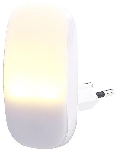Veilleuse à LED avec détecteur dobscurité 1 lm / 0,25 W [Lunartec]