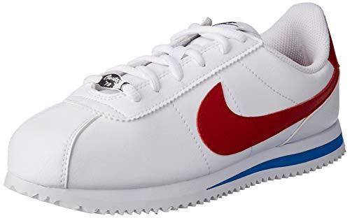 Nike Cortez Basic SL (GS), Zapatillas de Deporte Unisex Niños, Rojo (Rojo 904764 103), 37.5 EU