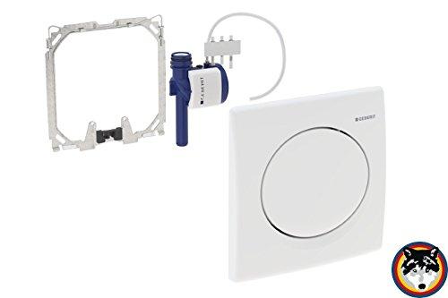 Geberit Urinal Handauslösung Basic pneumatisch weiss-alpin