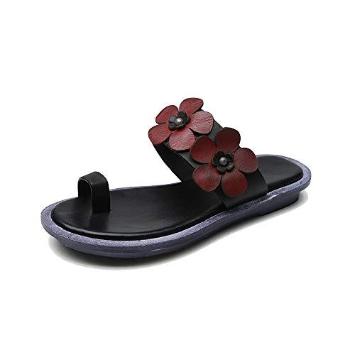 XCBW Sandalias para Zapatillas de Playa Retro de Verano para Mujer Zapatos...
