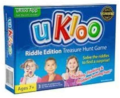 autorización oficial UKloo Riddle Edition Edition Edition Treasure Hunt Game by uKloo  tienda de venta