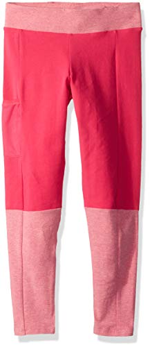 Columbia Girls' Big Lena Lake Novelty Legging, Cactus Pink, Small