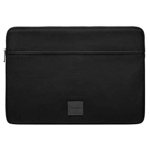 Targus Urban Laptop Sleeve, Weather-Resistant College School Bag, Protective Sleeve for 15.6-Inch Laptop, Black (TBS933GL)