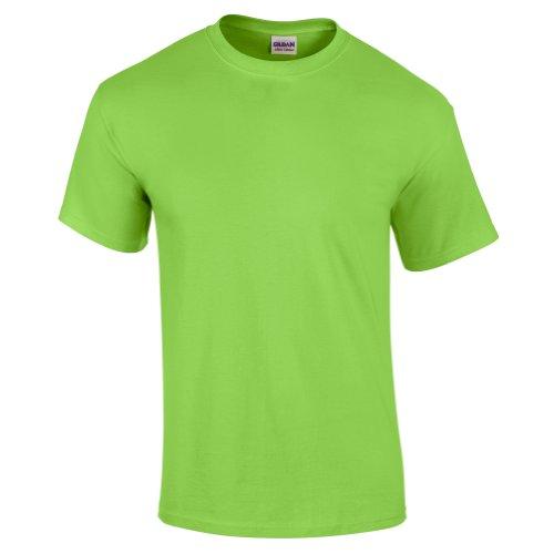 Gildan - Camiseta básica de manga corta de verano para hombre- 61 colores diferentes ? Número 1 en América